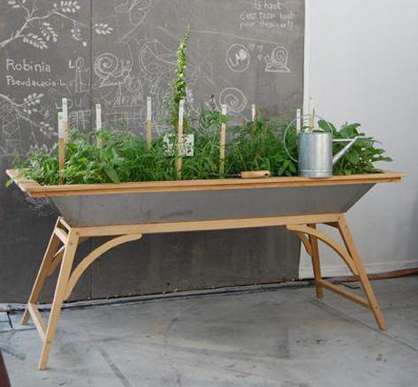 Salad Tables And Salad Boxes Urban Horticulture
